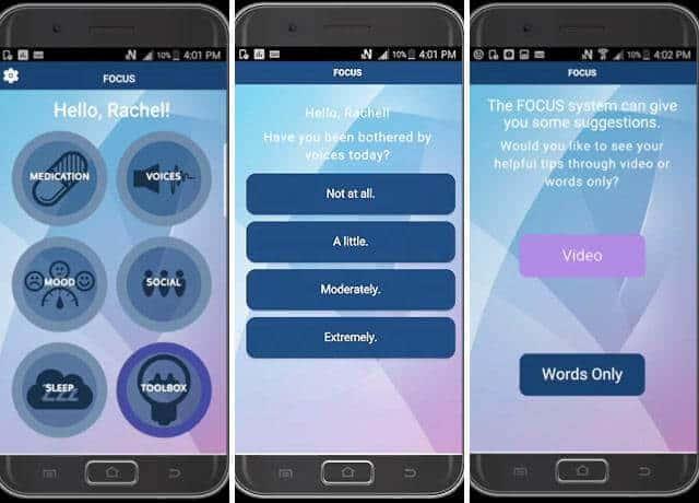Phone app effectively treats mental illness, study shows