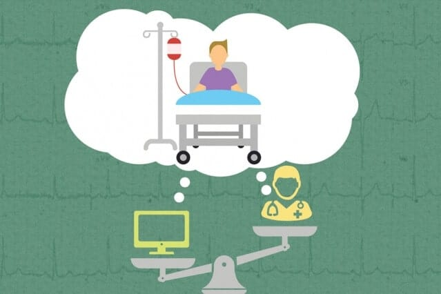 Doctors rely on more than just data for medical decision making