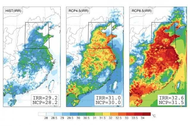 China could face deadly heat waves due to climate change