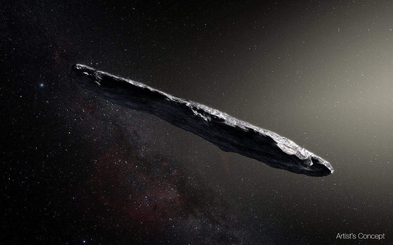 'Oumuamua interstellar object was not an alien spacecraft