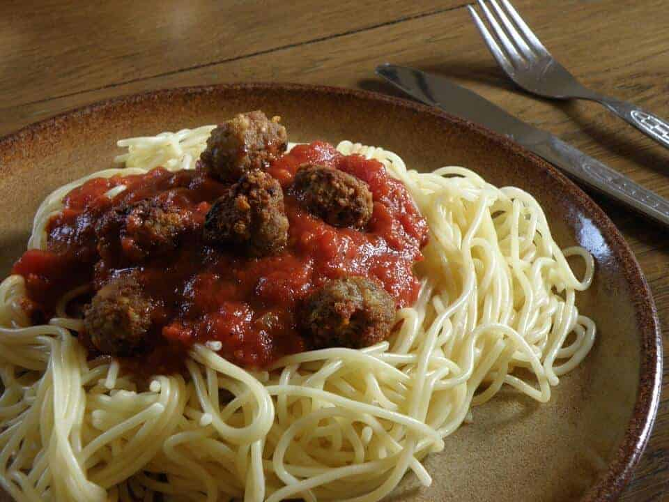 Drat! Meatballs might wreck the anti-cancer perks of tomato sauce