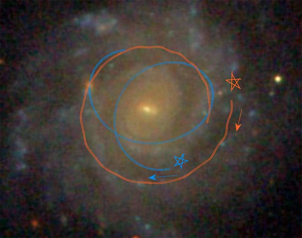Astronomers model, determine how disk galaxies evolve so smoothly