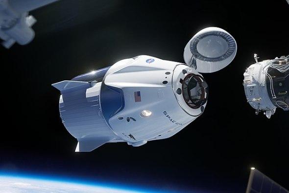 Beobachtungstipp: Crew Dragon beim Start über Europa
