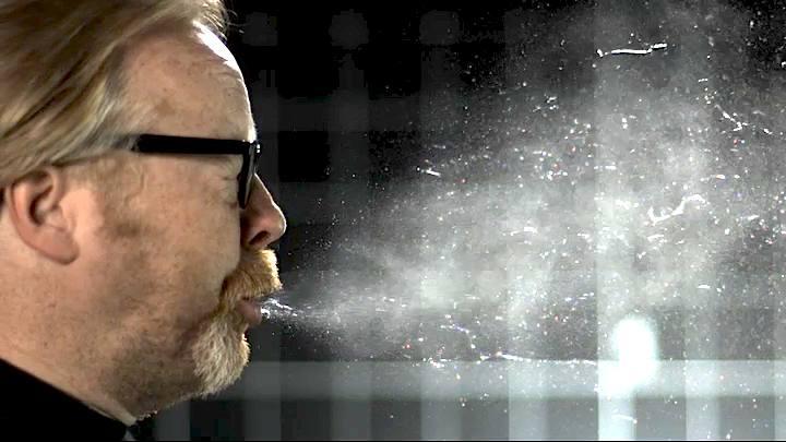 adam mythbusters sneezing