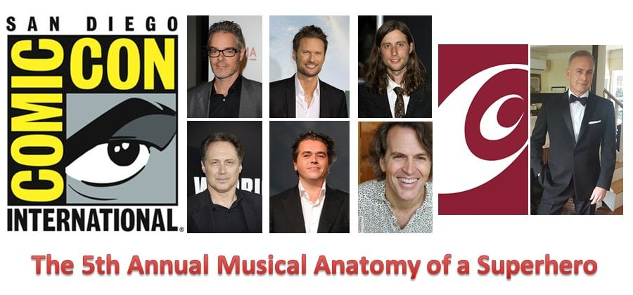 Musical Anatomy Of A Superhero Panel