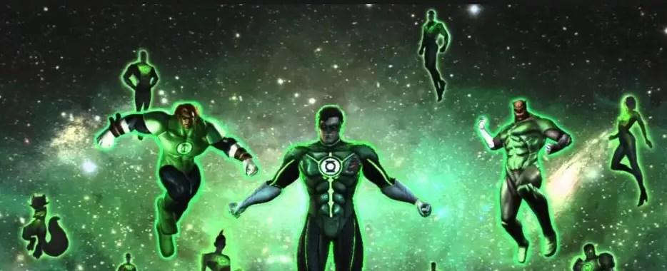 Geoff Johns Green Lantern Corps