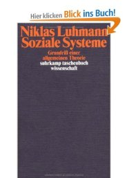 Luhmann_Soziale Systeme