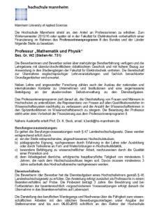 Hochschule mannheim Betrug 2