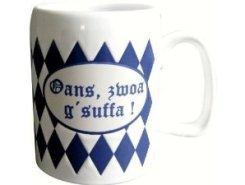Bavarian drinking mug