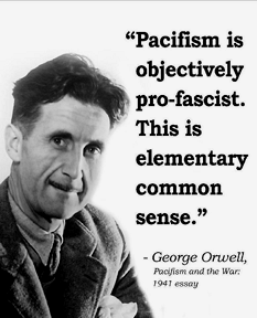 George Orwell on pacifism