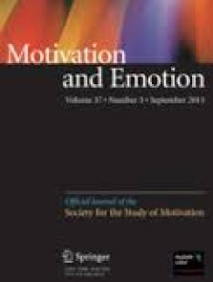 Motivation Emotion Springer