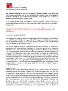 UHamburg Sonderprogramm