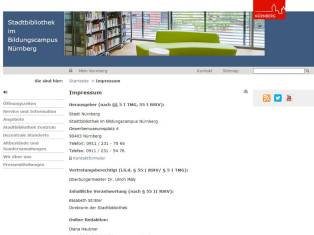 Stadtbibliothek Nuernberg