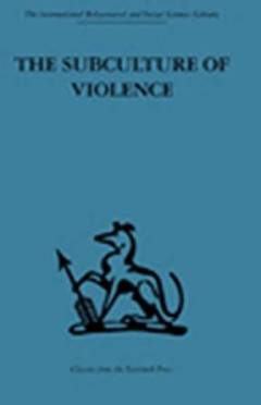 Subculture of violence