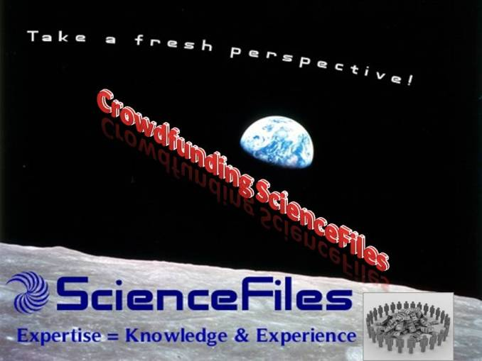 Crowdfunding ScienceFiles