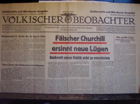 Voelkischer beobachter Churchill