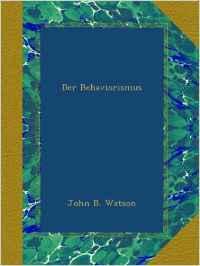 watson-behaviorismus
