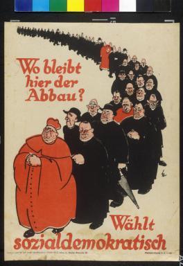 SPD Wahlplakat