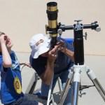MOBS Ribbon Cutting – Sun Viewing