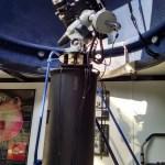 Solar telescopes inside the Mobile Observatory