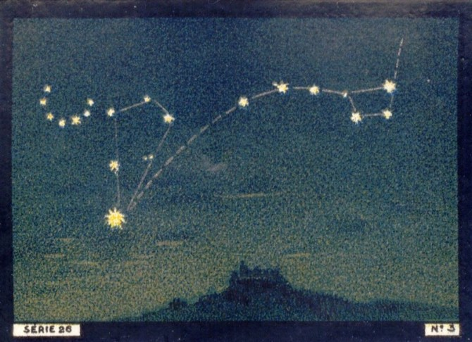 Constellations big dipper