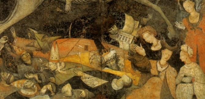 Triumph of Death fresco Palermo Detail