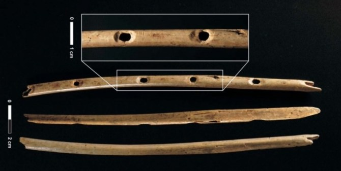 Oldest bone flute in world
