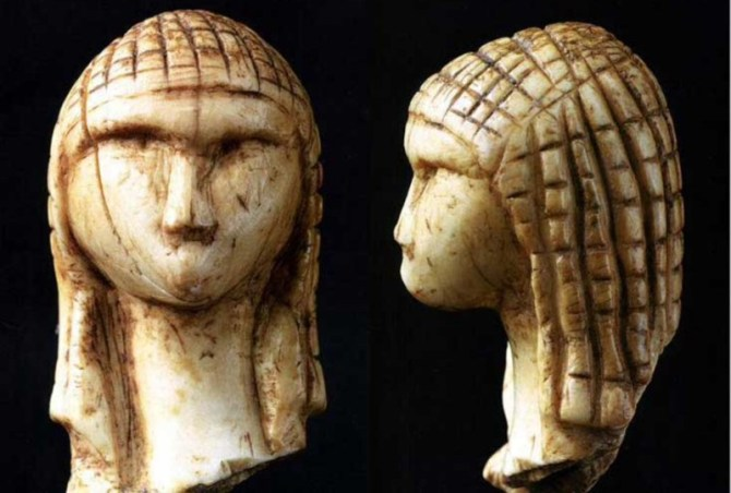 Ice age Venus carving