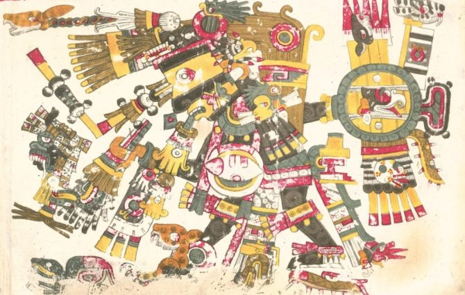 codex Borgia Tezcatlipoca