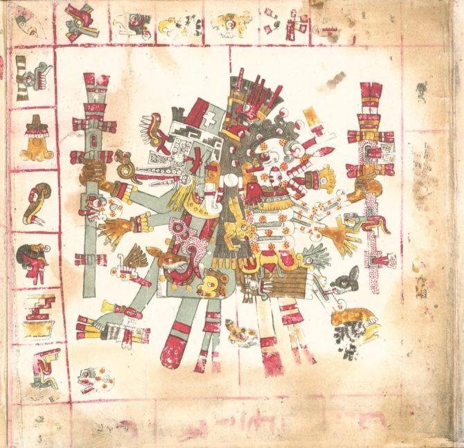 Codex Borgia images