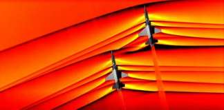 Nasa Supersonic Shockwaves Merging