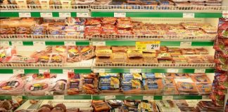 Processed Meats supermarket