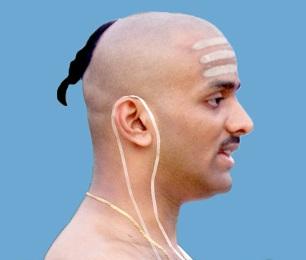 Sacred Thread in Ear (Janai)
