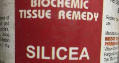 साइलीशिया (Silicea)