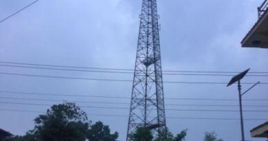 नेपाल टेलिकमको टावर
