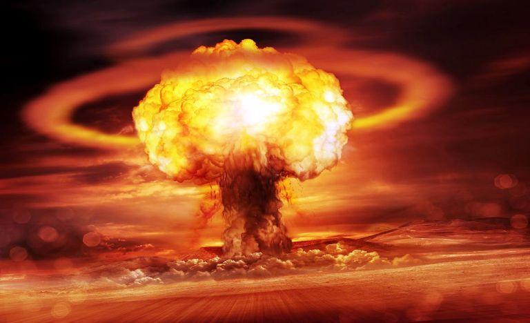 एटम बम बिष्फोटन