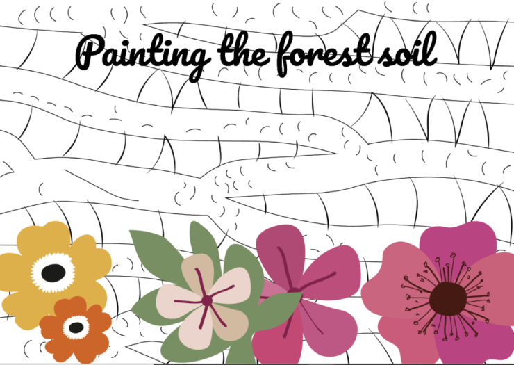Painting the forest soil poster EN