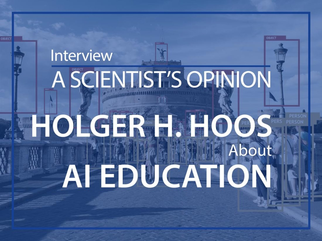 A scientist's opinion : Interview with Holger H. Hoos