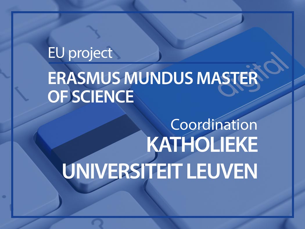 EU project : Erasmus Mundus Master of Science