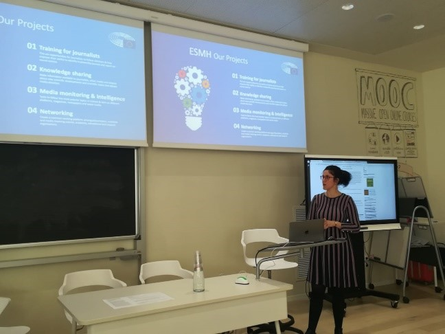 ESMH presentation at Milan