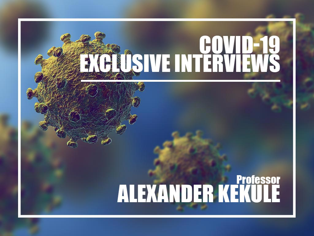 Covid-19 Exclusive interviews with Prof. Alexander Kekulé