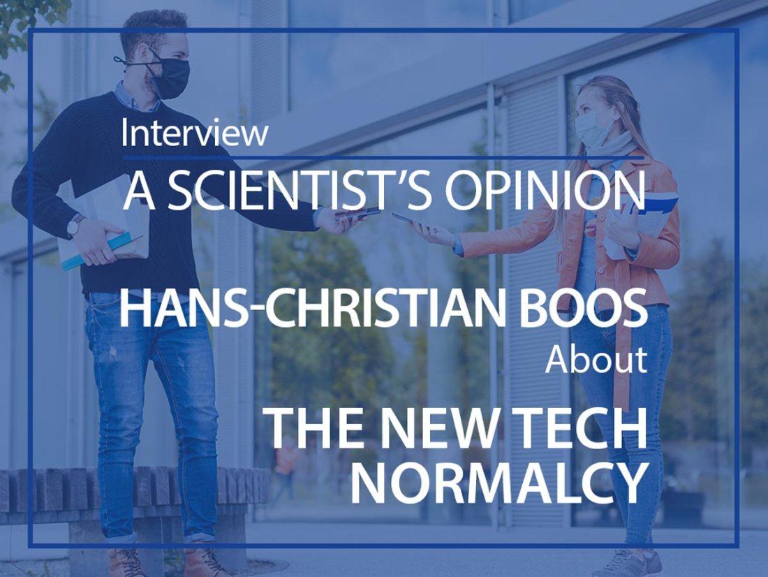 Hans-Christian Boos interview