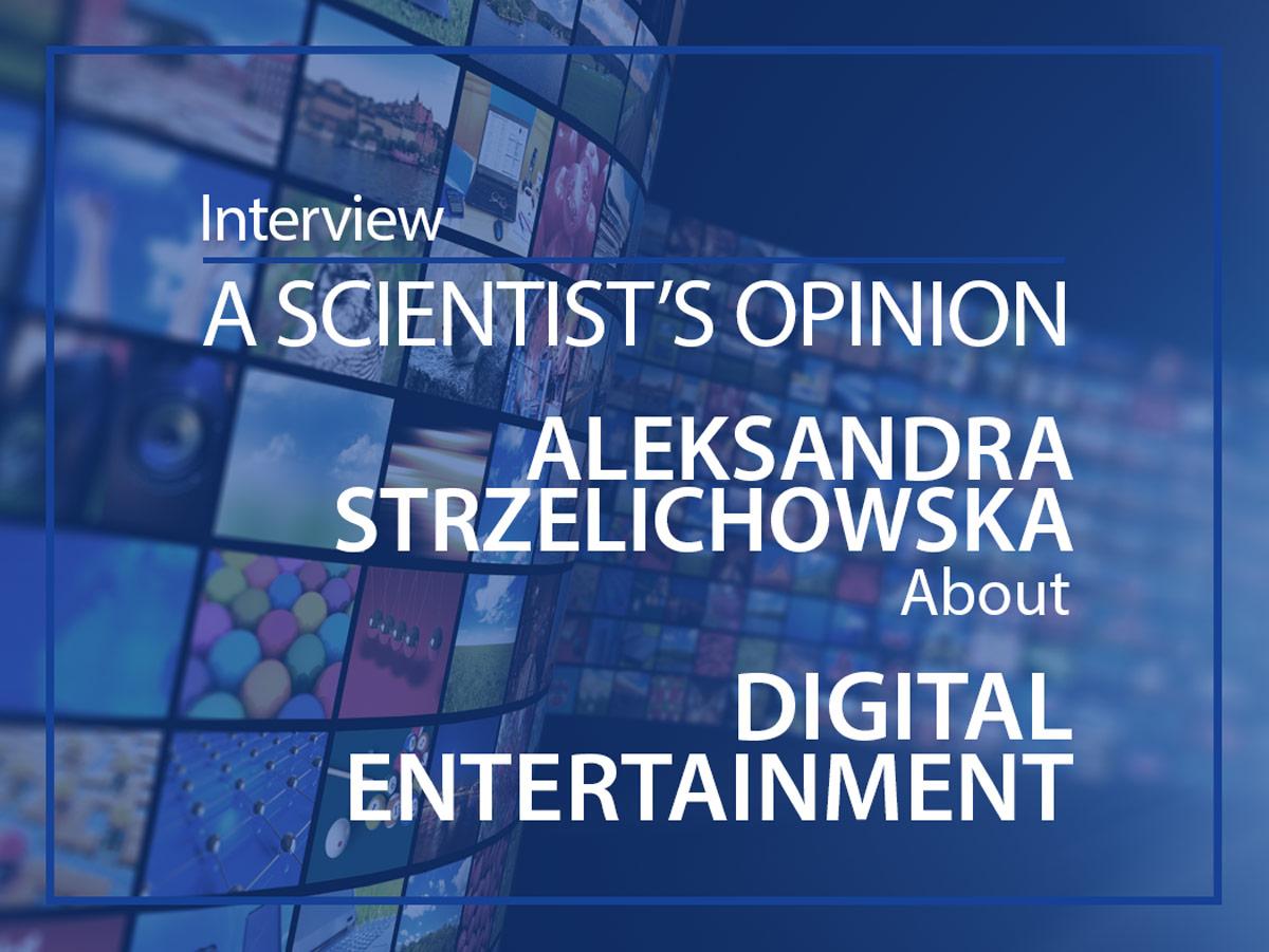 Aleksandra Strzelichowska interview