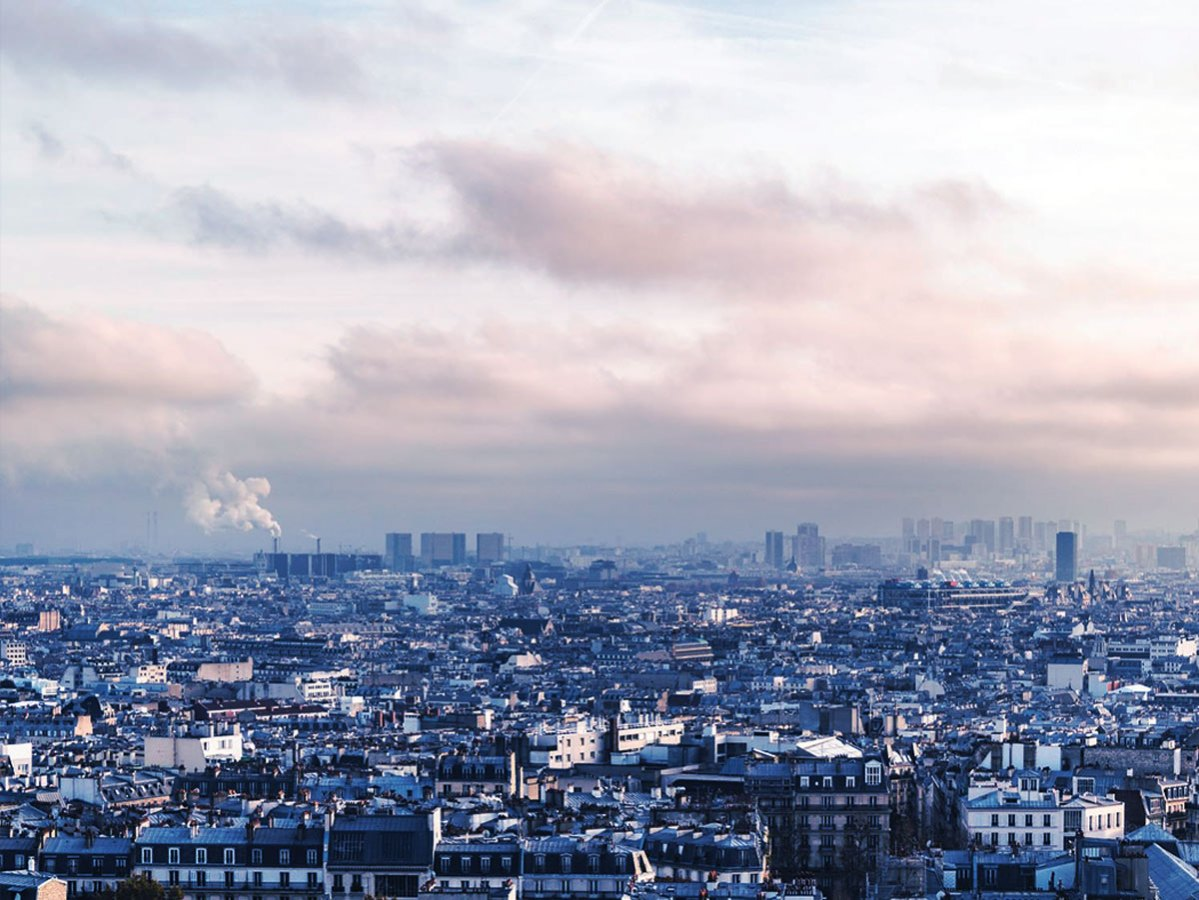 Paris under the smog