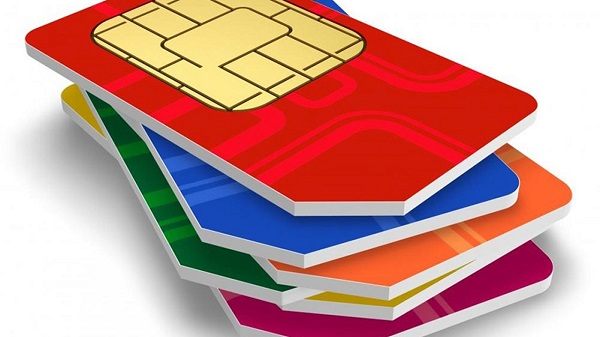 sim card stack