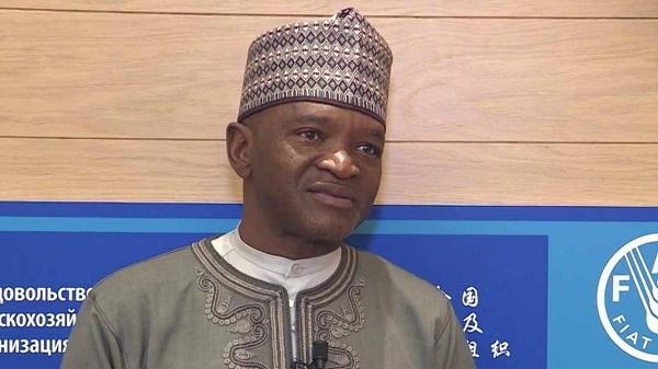 The Minister of Environment, Dr. Mohammad Abubakar.