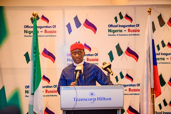 The Minister of State Mines and Steel Development, Dr. Uchechukwu Ogah.
