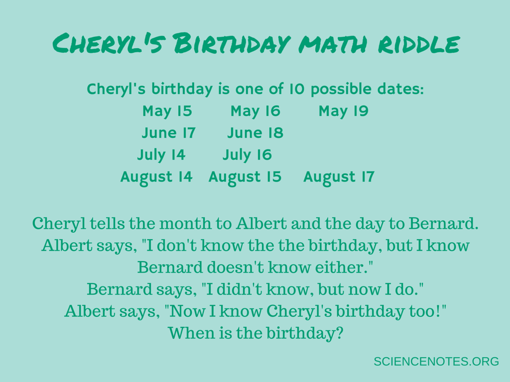 Math Riddles For Seventh Grade