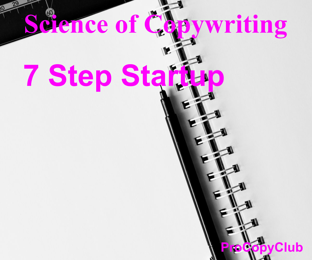 7 step startup guide to business - image of notebook