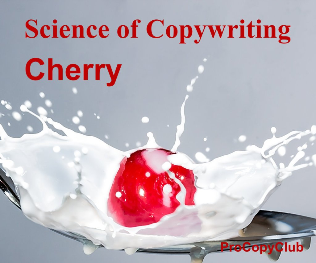 How NOT To Use Punctuation In Your Copy (for Copywriters) - image of cherry